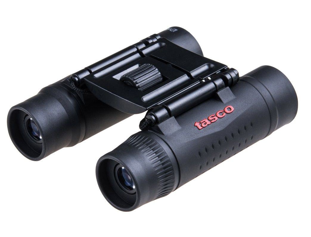 Binóculo Tasco Essentials Compact 12x25mm Roof Preto 178125  - Mix Eletro