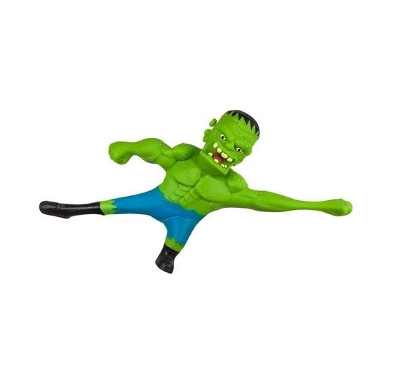 Boneco de monstro 14cm estica até 1m Estike Monster  Multikids - Frankenstein  - Mix Eletro