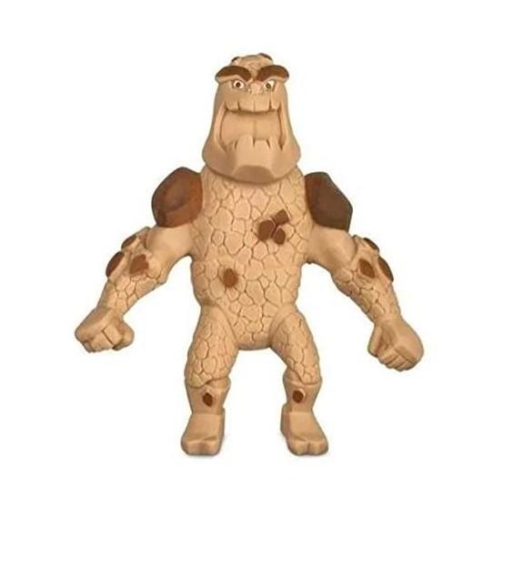 Boneco de monstro 14cm estica até 1m Estike Monster  Multikids - Monstro de Pedra  - Mix Eletro
