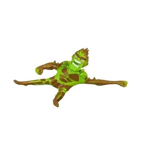 Boneco de monstro 14cm estica até 1m Estike Monster  Multikids - Monstro do Pântano   - Mix Eletro