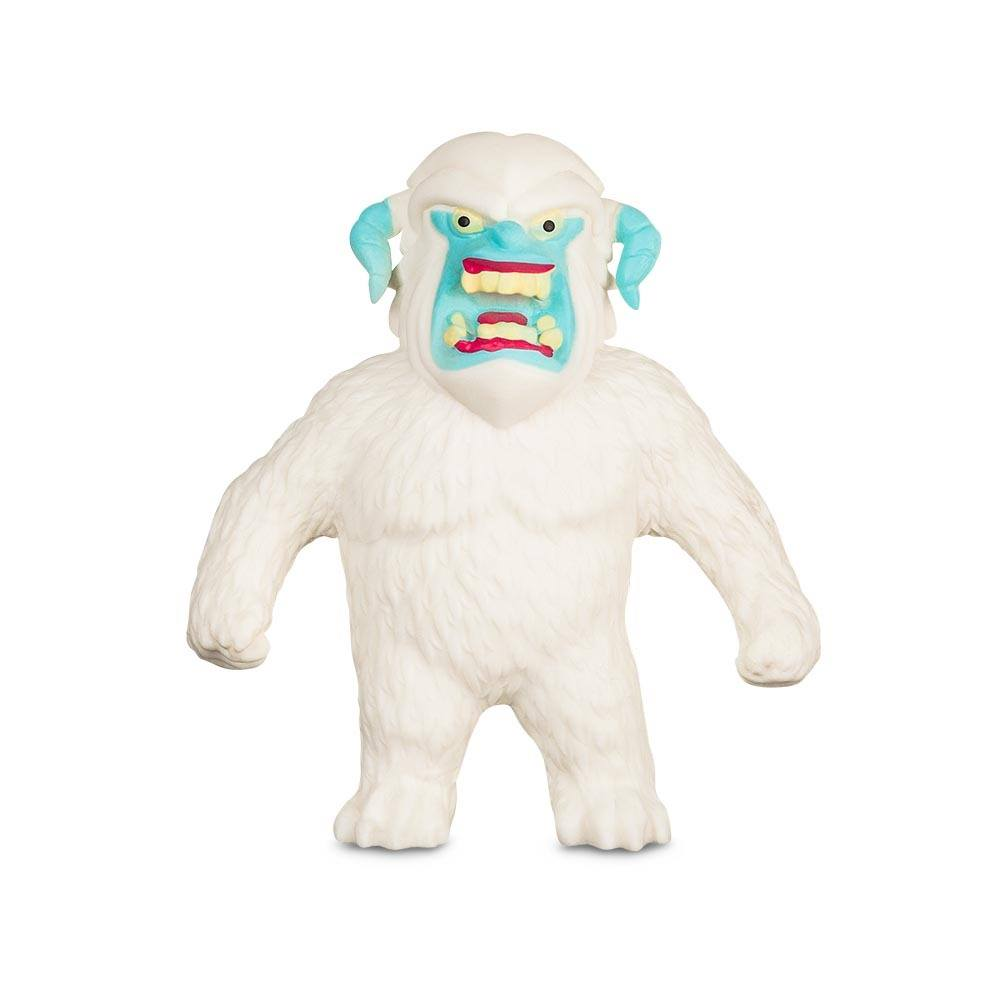 Boneco de monstro 14cm estica até 1m Estike Monster  Multikids - Yeti  - Mix Eletro