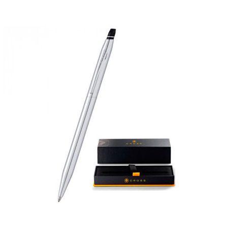 Caneta Cross linha Click esfero chrome brilhante AT0622-101  - Mix Eletro