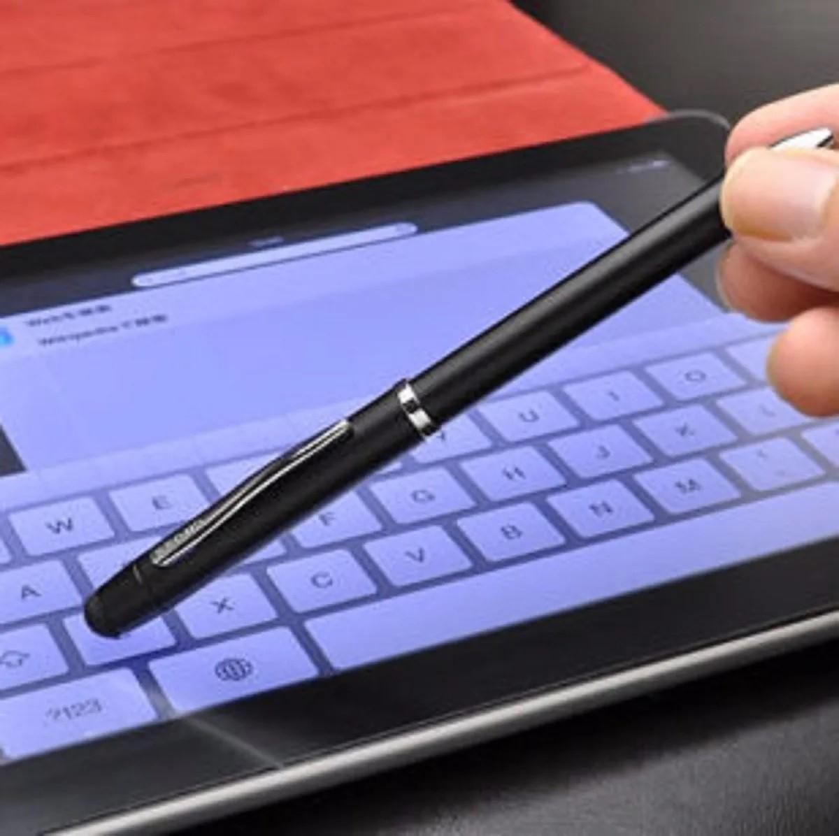 Caneta Cross Tech 3 Multifuncional 2 cores lapiseira e ponta touch AT0090-3  - Mix Eletro