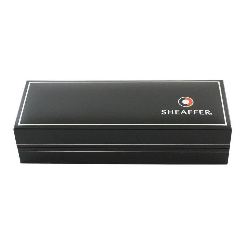 CANETA ESFERO SHEAFFER coleção 100 Preto/Prata E2931351-30  - Mix Eletro