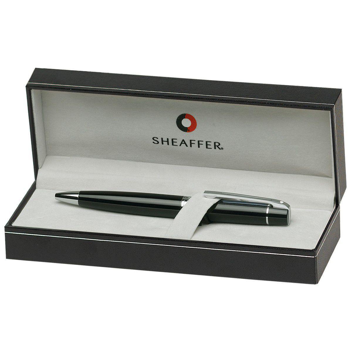 Caneta executiva Sheaffer coleção 300 preta laca E2931251  - Mix Eletro