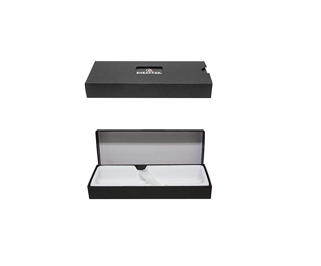Caneta social Sheaffer esfero ponta média linha VFM Silver E2940051  - Mix Eletro