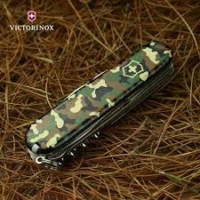 Canivete Suíço Huntsman Victorinox Camuflado 15 funções Original 1.3713.94  - Mix Eletro