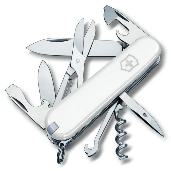 Canivete Suíço Victorinox Climber 14 funções Branco Original.  - Mix Eletro