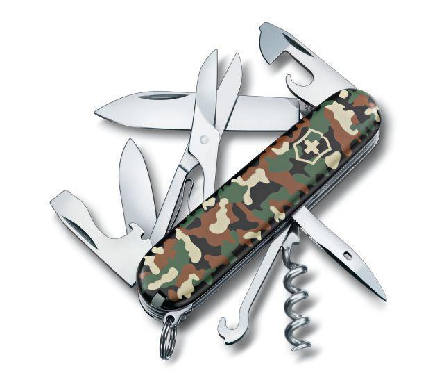 Canivete Suíço Victorinox Climber Camuflado 14 funções Original.  - Mix Eletro