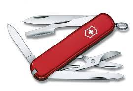 Canivete Suíço Victorinox Executive 74mm Vermelho 10 funções Original 0.6603  - Mix Eletro