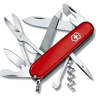 Canivete Suíço Victorinox Mountaineer Vermelho 18 funções Original 1.3743  - Mix Eletro
