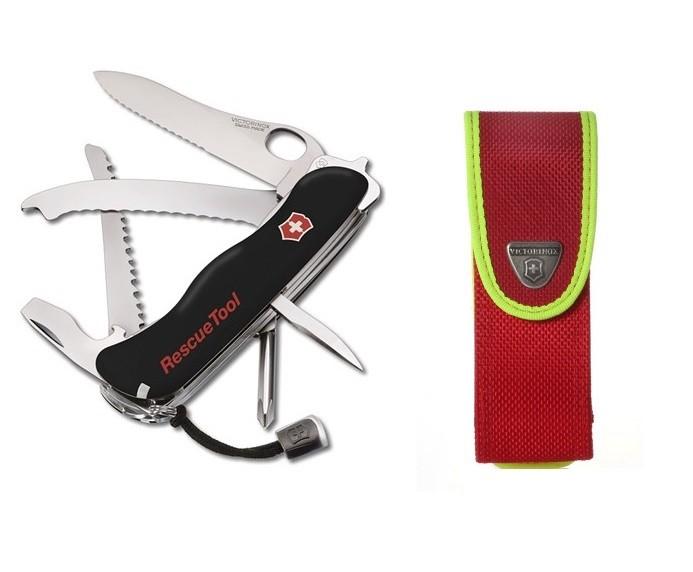 Canivete Suíço Victorinox RescueTool Preto 15 funções com Bainha  - Mix Eletro