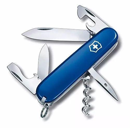 Canivete Suíço Victorinox Spartan Azul 12 funções Original  - Mix Eletro