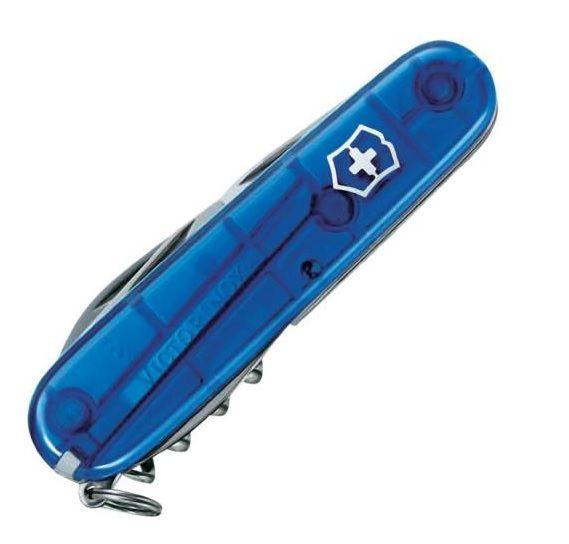 Canivete Suíço Victorinox Spartan Azul translúcido 12 funções Original 1.3603.T2  - Mix Eletro