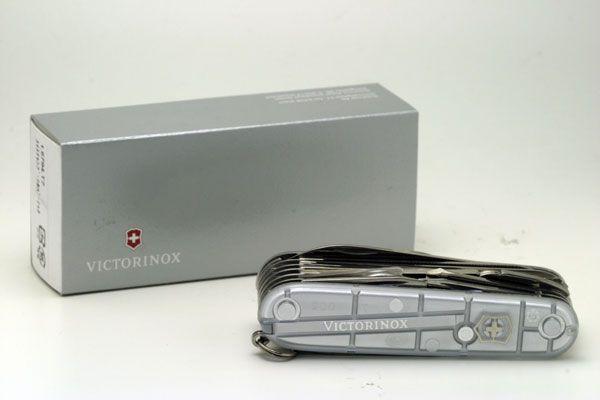 Canivete Suíço Victorinox Swisschamp Silvertech 31 funções Original.  - Mix Eletro
