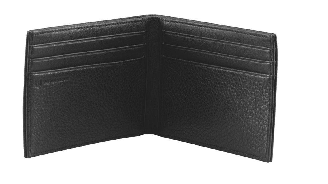 Carteira de couro texturizado masculina compacta Bi-fold Altius 3.0 Moritz Victorinox  - Mix Eletro