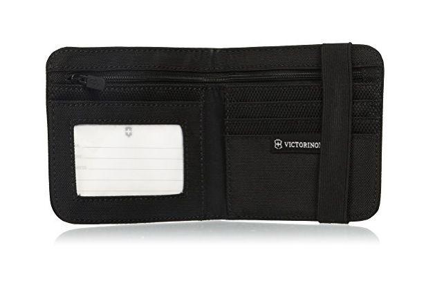 Carteira Masculina em Nylon Preta TA 4.0 Bi-Fold Wallet Victorinox   - Mix Eletro