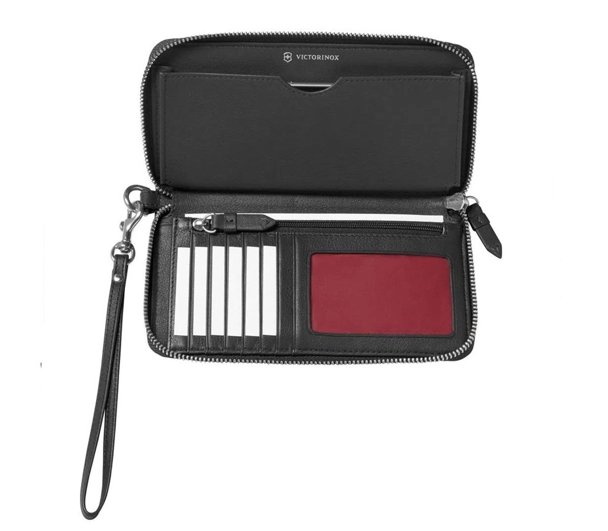 Carteira feminina Smartphone Wristlet Victoria 2.0 Victorinox 606697  - Mix Eletro