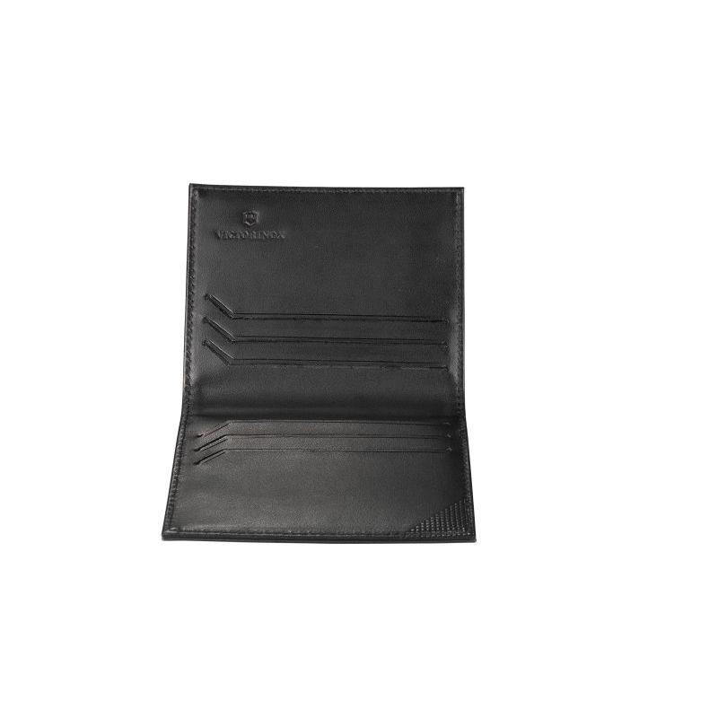 Carteira porta cartões em Couro 1 dobra Altius Edge Peano Victorinox  - Mix Eletro