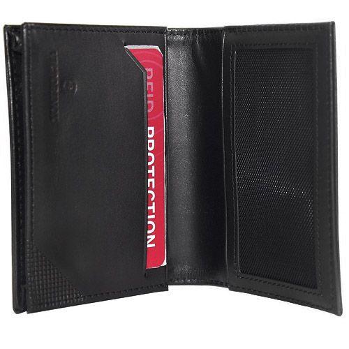 Carteira porta compacta em Couro 1 dobra Altius Edge Cardano Victorinox  - Mix Eletro
