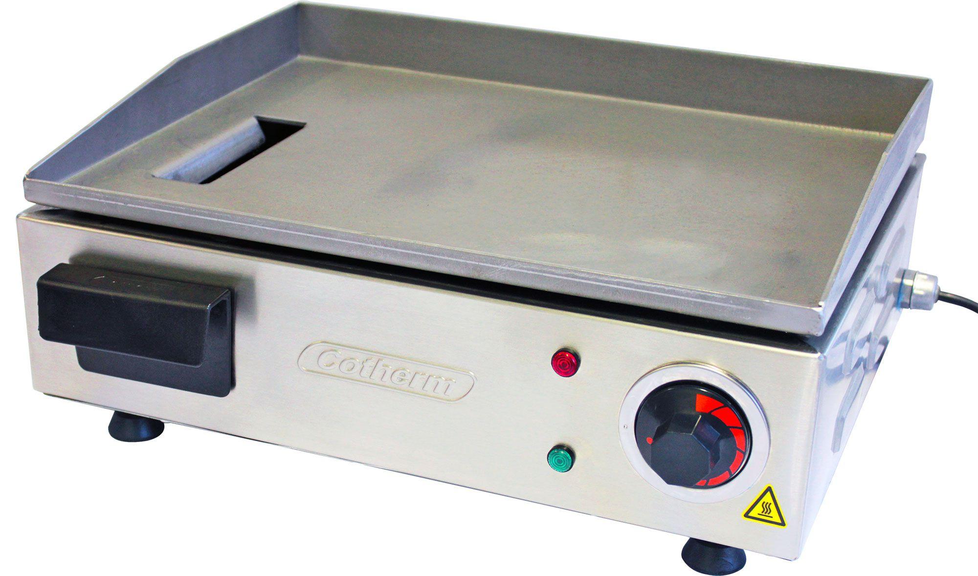Chapeira para Lanches elétrica Chapa Profissional 40x30cm 1200W Cotherm  - Mix Eletro