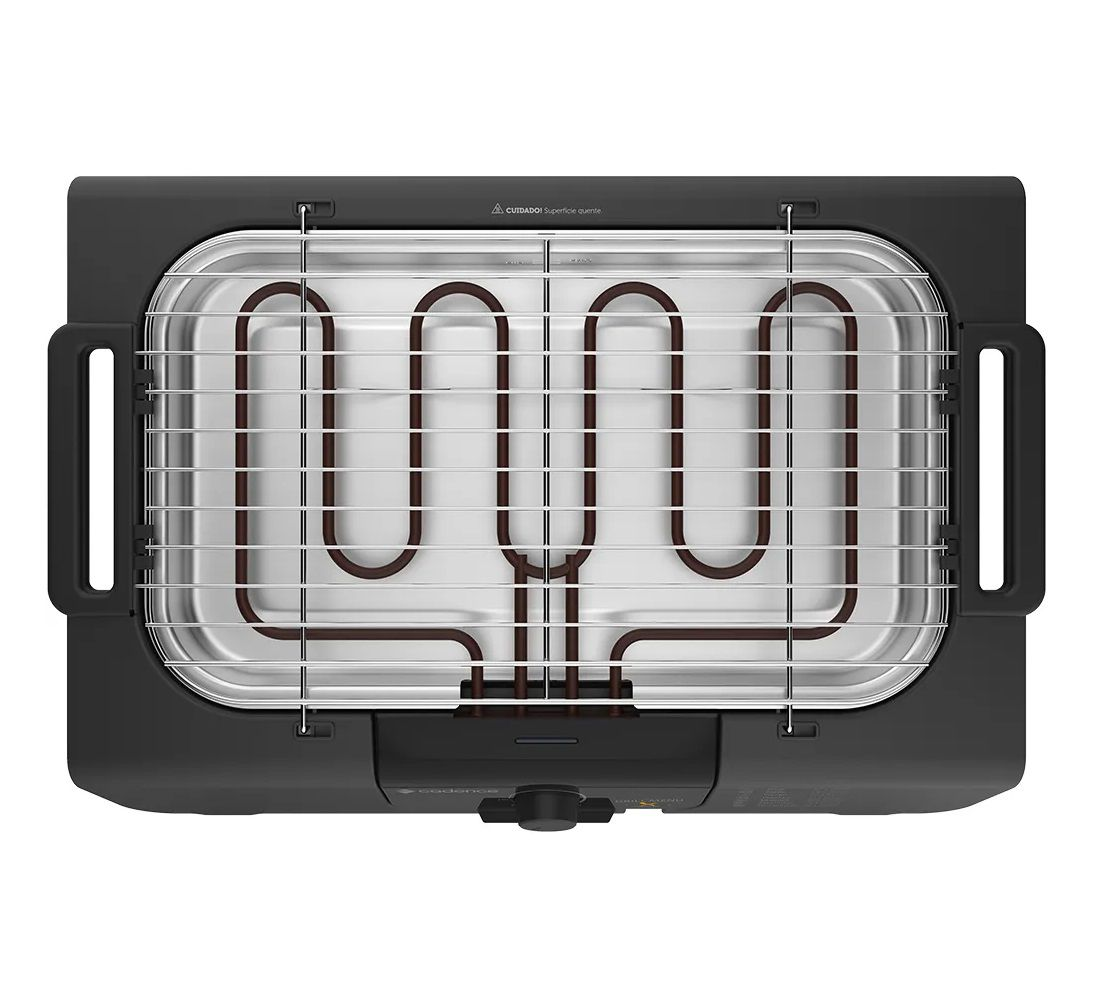 Churrasqueira Elétrica Grill Menu Cadence GRL810  - Mix Eletro