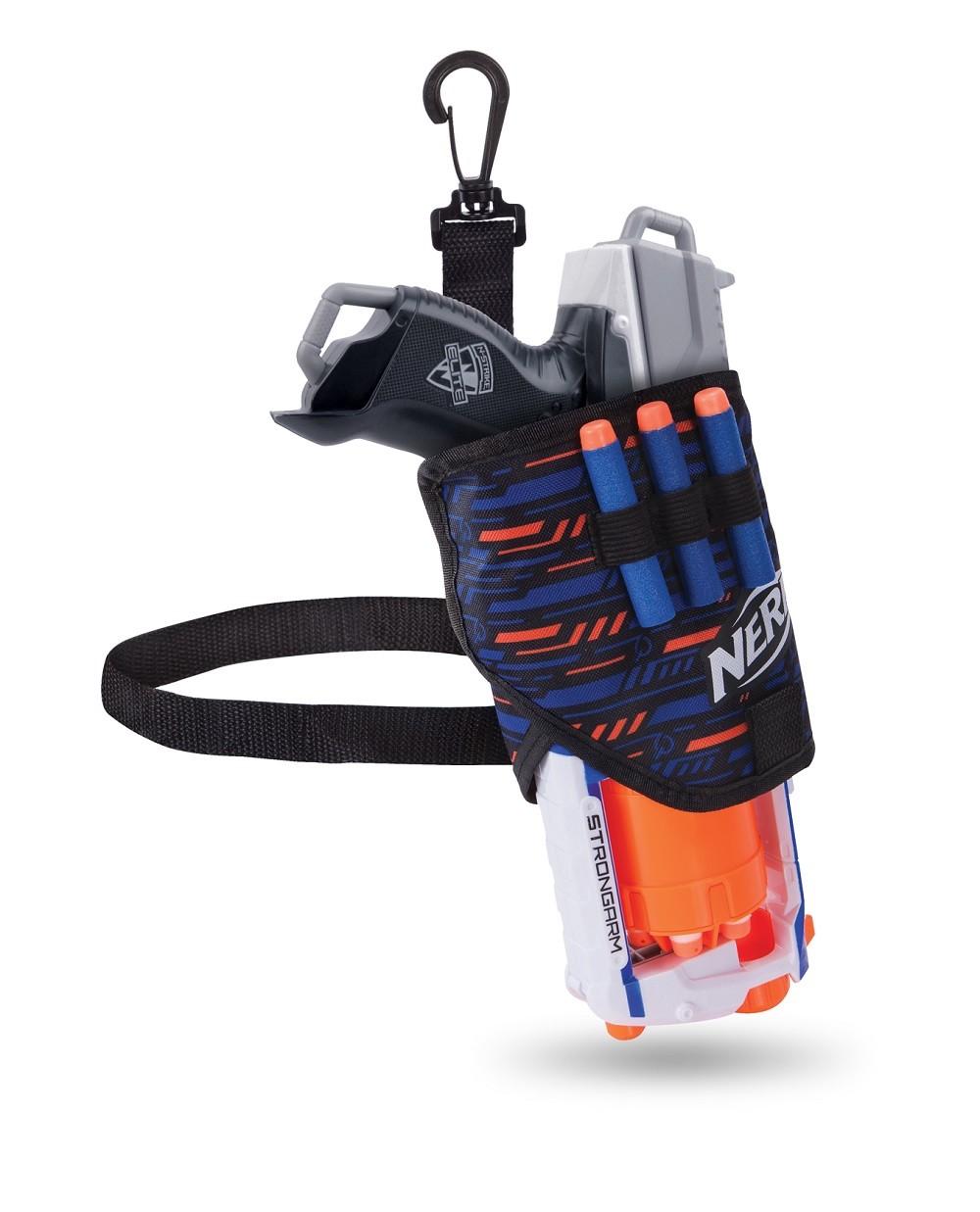 Coldre ajustável porta Lançador Nerf Elite Multikids BR938  - Mix Eletro