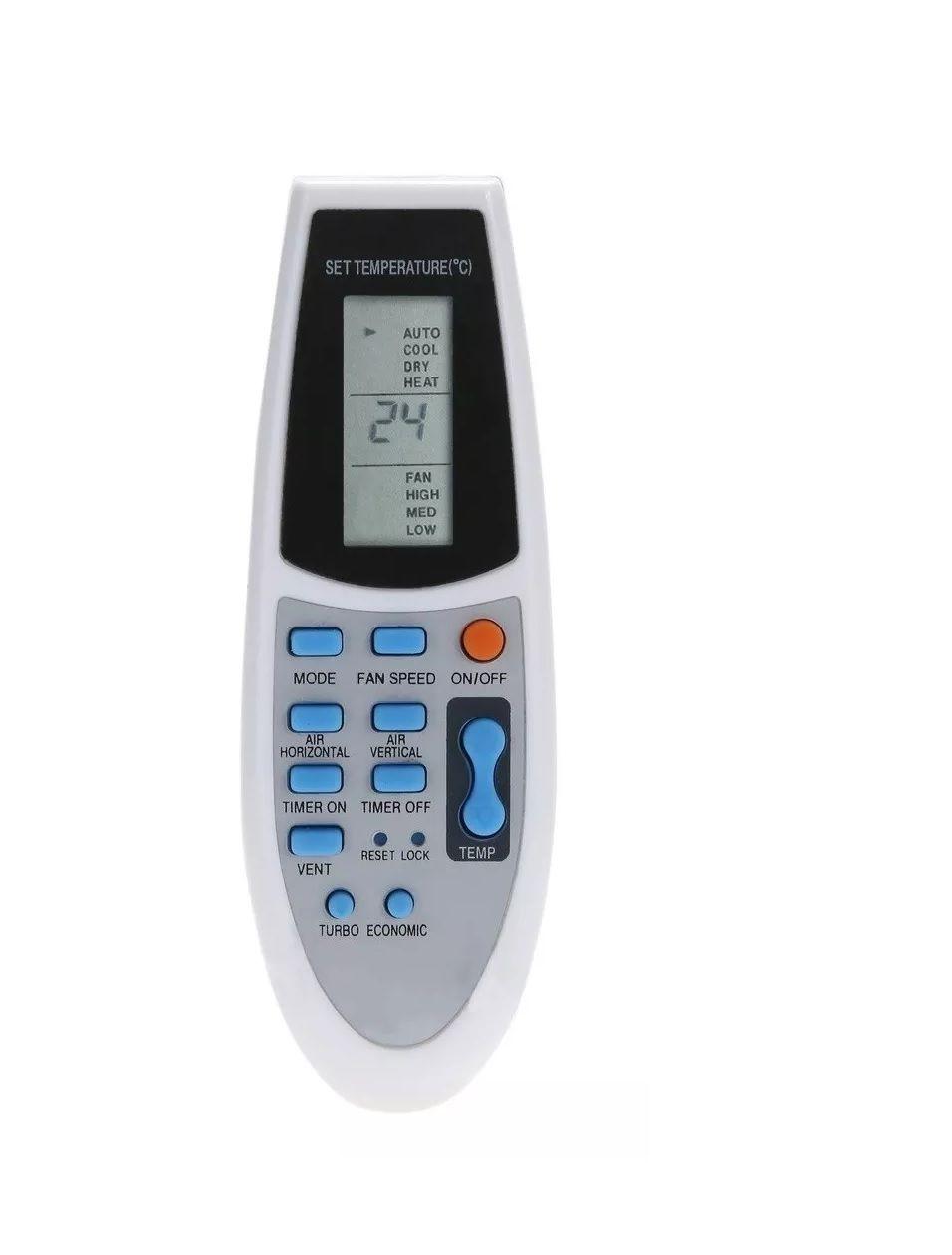 Controle Remoto MXT para Ar Condicionado Split Piso Teto e Cassete York R92/BGE R91/BGE  - Mix Eletro