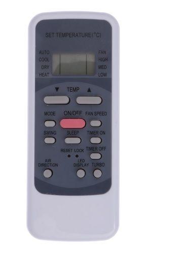 CONTROLE REMOTO PARA AR CONDICIONADO MIDEA PISO TETO e CASSETE R51  - Mix Eletro