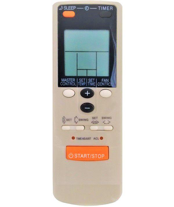 Controle Remoto para Ar Condicionado SPLIT HI-WALL FUJITSU Ar-jw-2 Ar-jw-11 Ar-jw13 Ar-jw27  - Mix Eletro