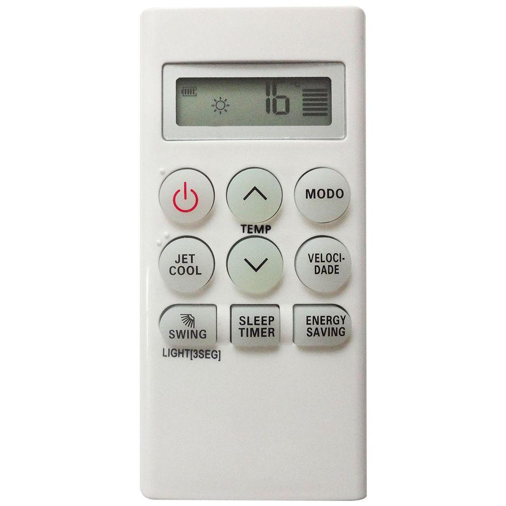 Controle Remoto para Ar Condicionado Split LG linhas Hi Wall Smile e New Smile 9008  - Mix Eletro
