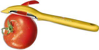 Descascador de Tomates frutas legumes Amarelo Victorinox 7.6075.8  - Mix Eletro