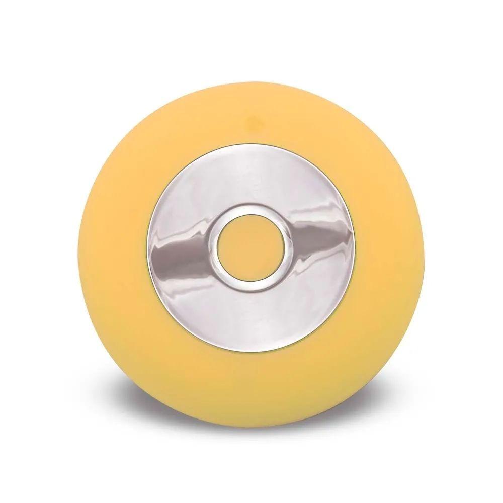 Escova Sônica para Limpeza Facial Bella Mini Multilaser Recarregável Amarelo HC186  - Mix Eletro