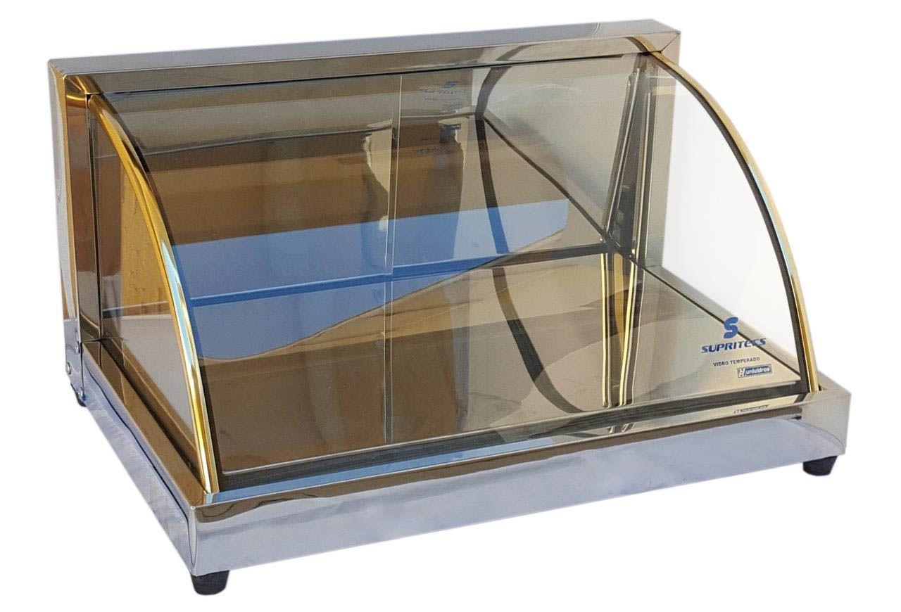 Estufa Fria Vitrine 4 Gelo-x 68cm + 4 Placas extras Supritecs   - Mix Eletro