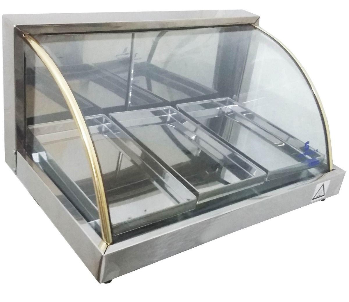 Estufa para salgados elétrica 54cm com 3 Bandejas Supritecs  - Mix Eletro