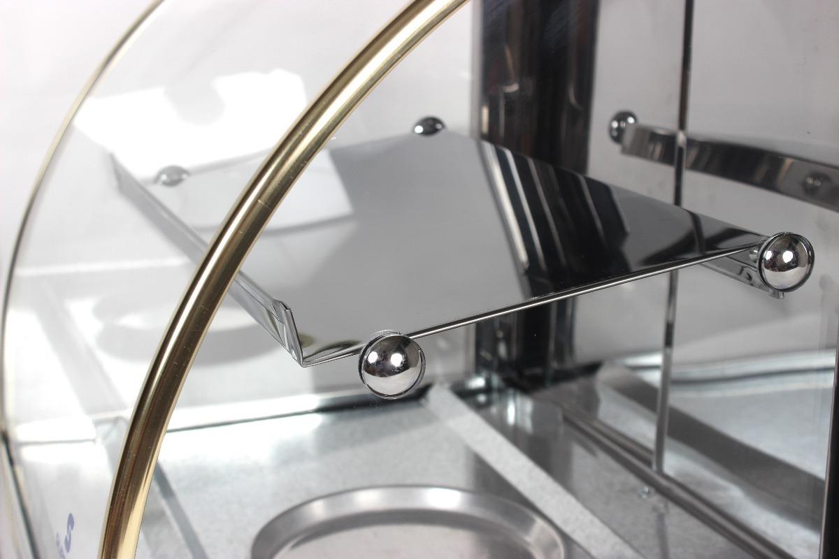Estufa para salgados elétrica Dupla 68cm com 8 Bandejas Supritecs  - Mix Eletro