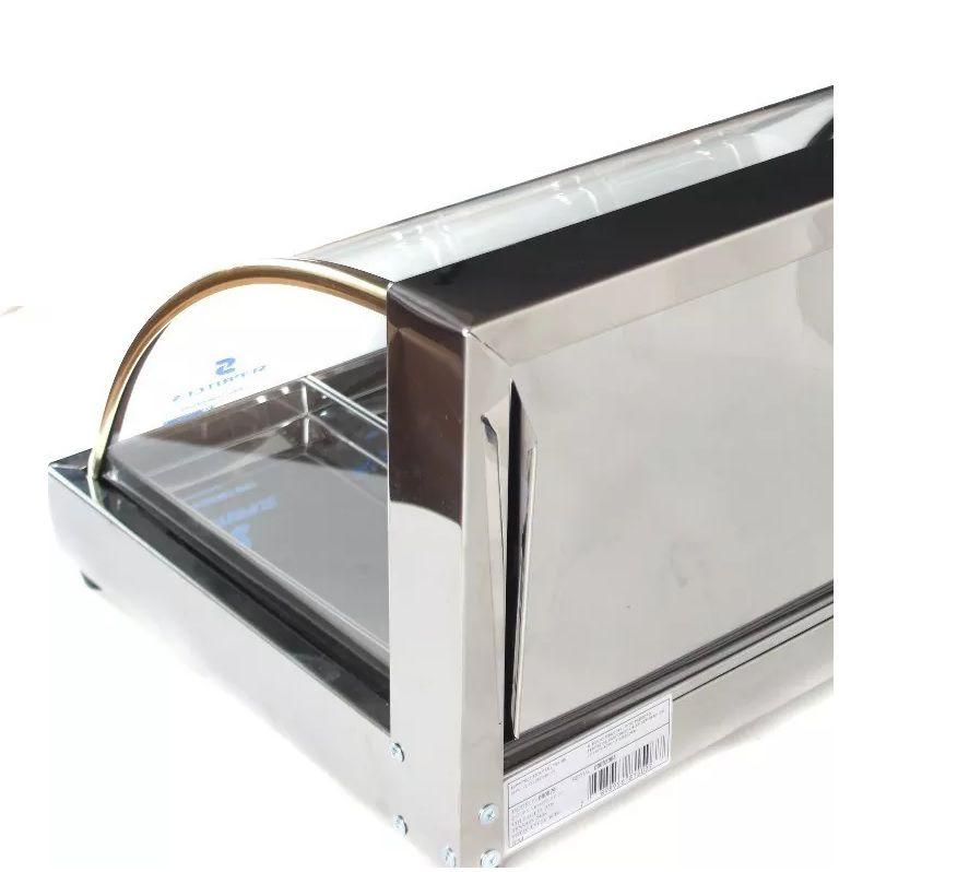 Estufa Vitrine Fria bolos doces 2 Gelo-x  37cm + 2 refis extras Supritecs  - Mix Eletro