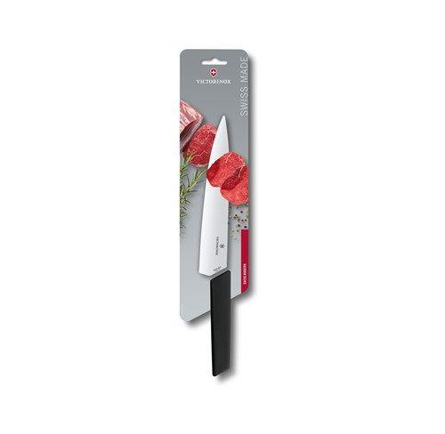 Faca aço inox para fatiar 35cm Swiss Modern Victorinox 6.9013.22  - Mix Eletro