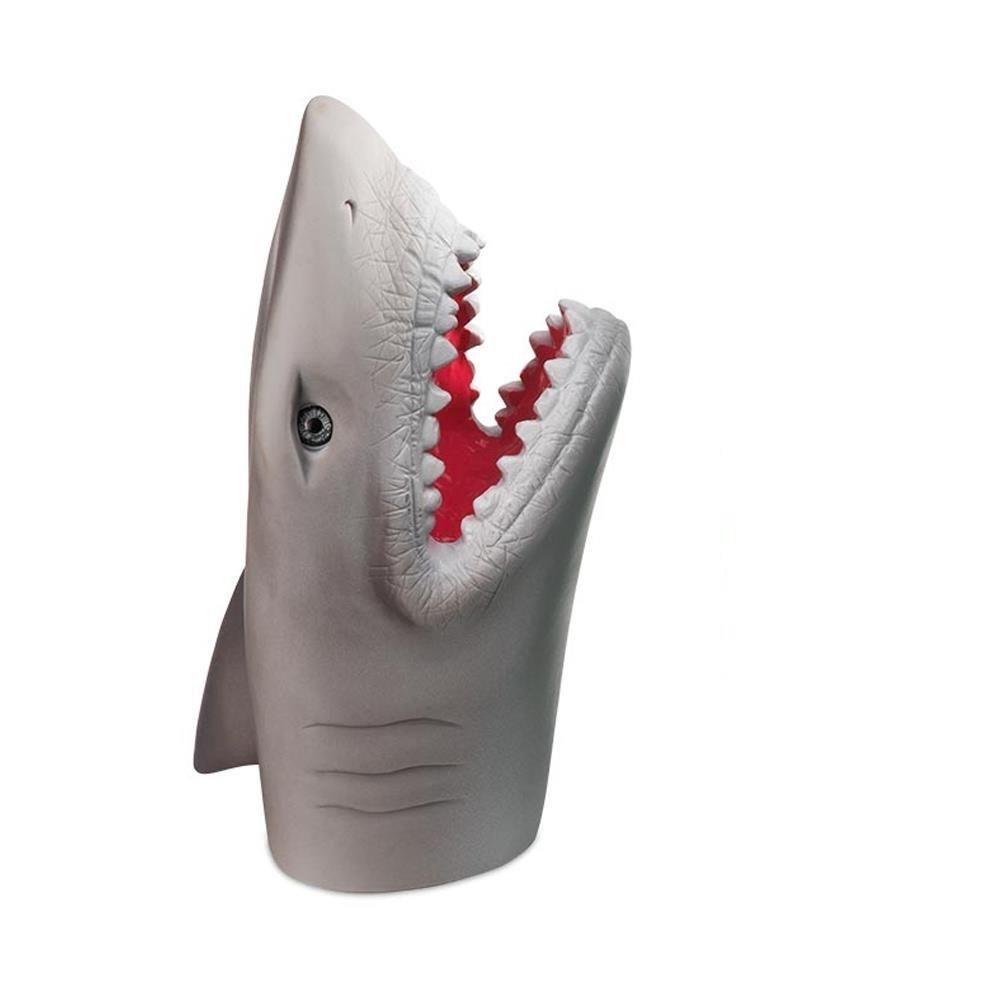 Fantoche de mão infantil plástico Tubarão Multikds BR1148  - Mix Eletro