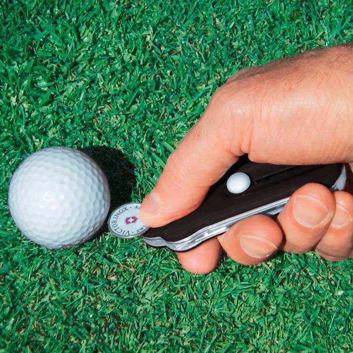 Ferramenta Esportiva com 10 Funções para Golfistas Golftool Preto Victorinox  - Mix Eletro