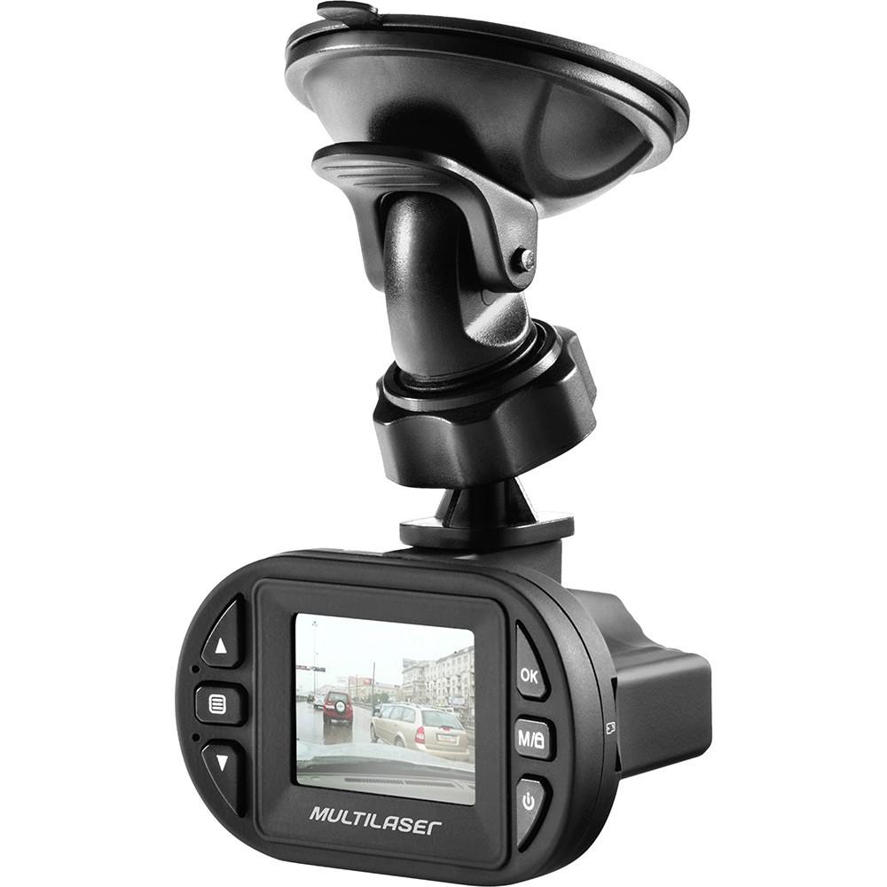 Filmadora automotiva HD 1080p Multilaser Veicular Visão Noturna AU013R  - Mix Eletro