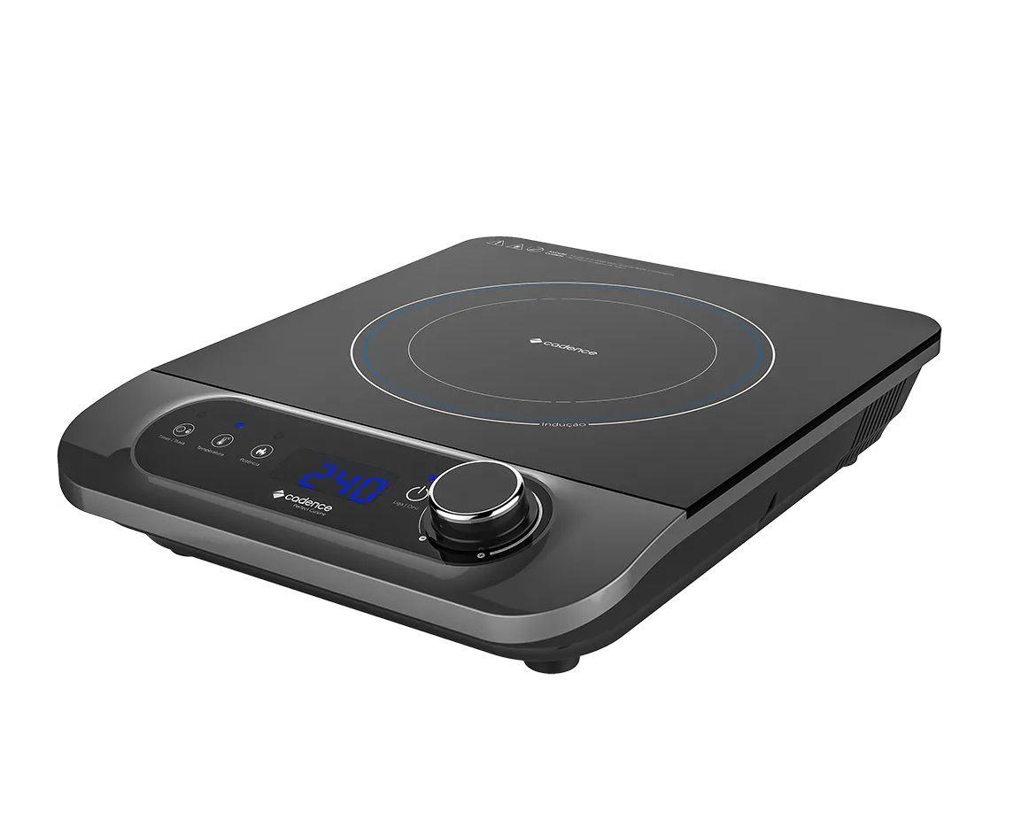 Fogão Cooktop Cadence Perfect Cuisine 1 Boca Indução FOG601  - Mix Eletro