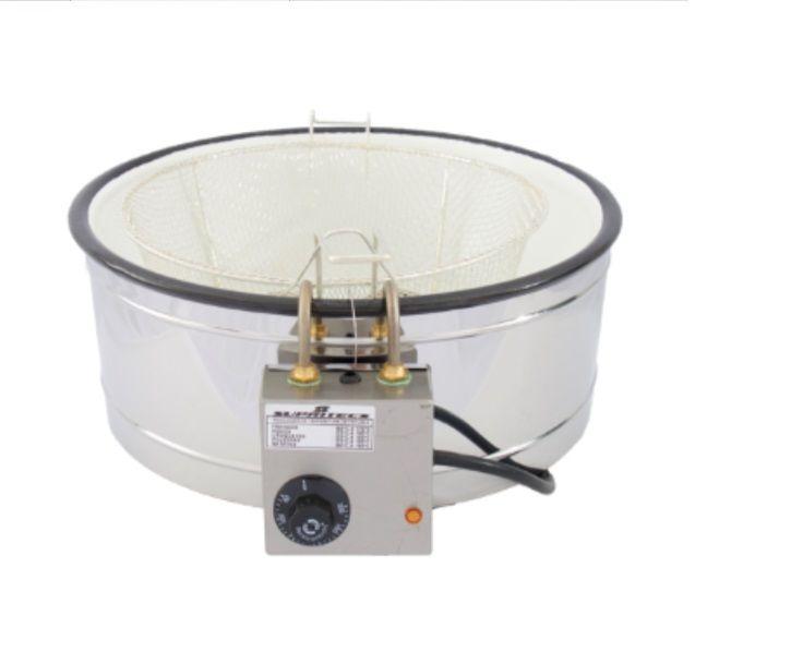 Fritadeira elétrica Tacho fritura pasteis churros 7L Supritecs  - Mix Eletro