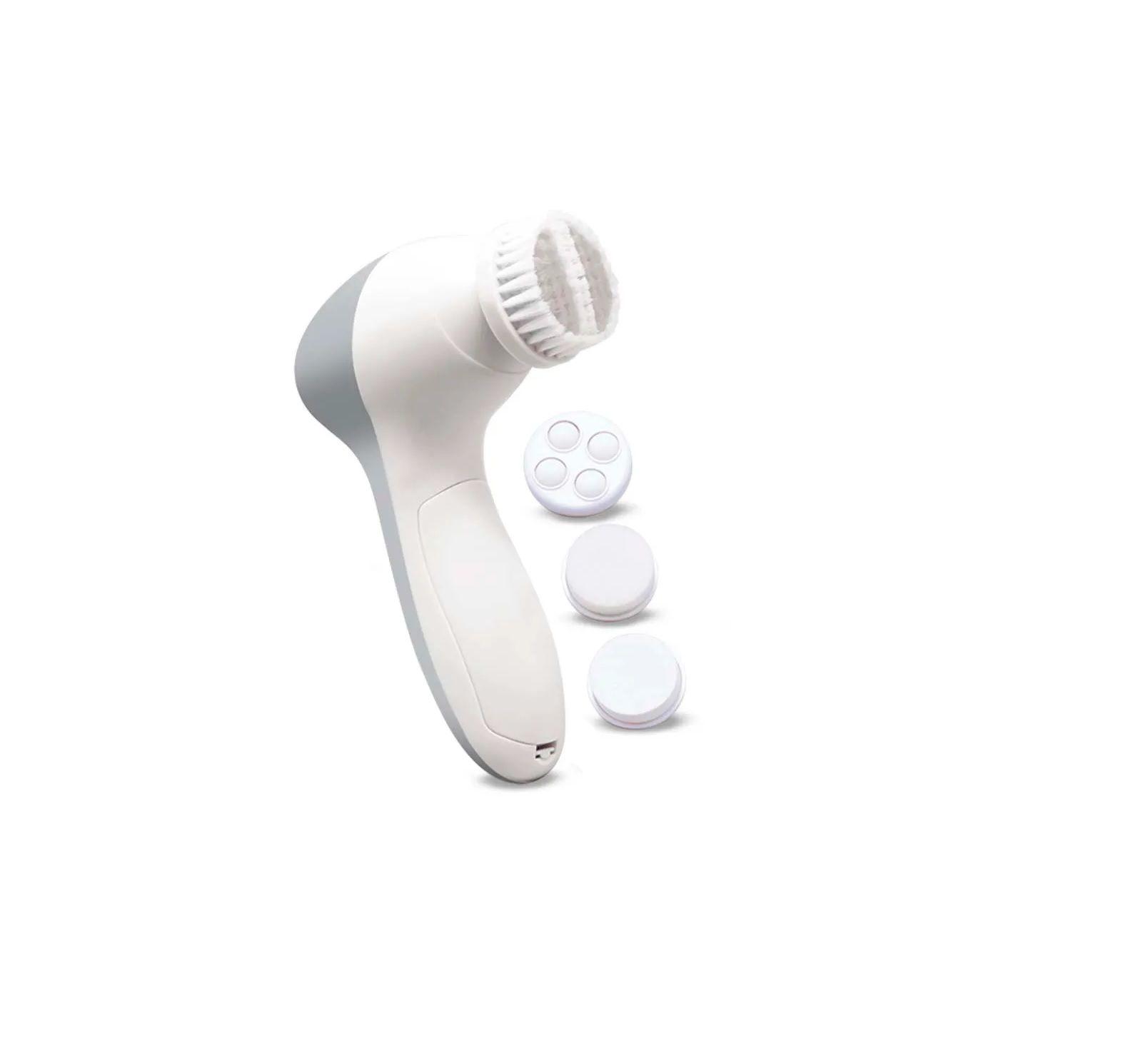 Kit Spa Facial 4 em 1 2 velocidades Multilaser Cinza - HC184  - Mix Eletro