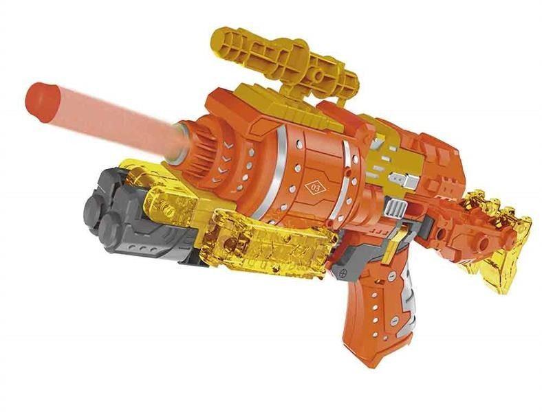 Lançador de Dardos Que Vira Robô XChangers Multikids BR103  - Mix Eletro