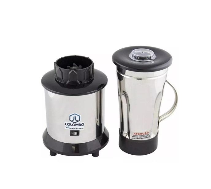 Liquidificador 1,8 Litros profissional Alta Rotação 18000 RPM Aço inox JL colombo  - Mix Eletro