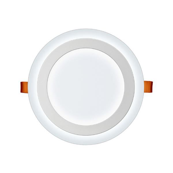 Luminária Led de embutir 18W 3 estágios redonda 6W+12W 3000K/6500K Elgin  - Mix Eletro