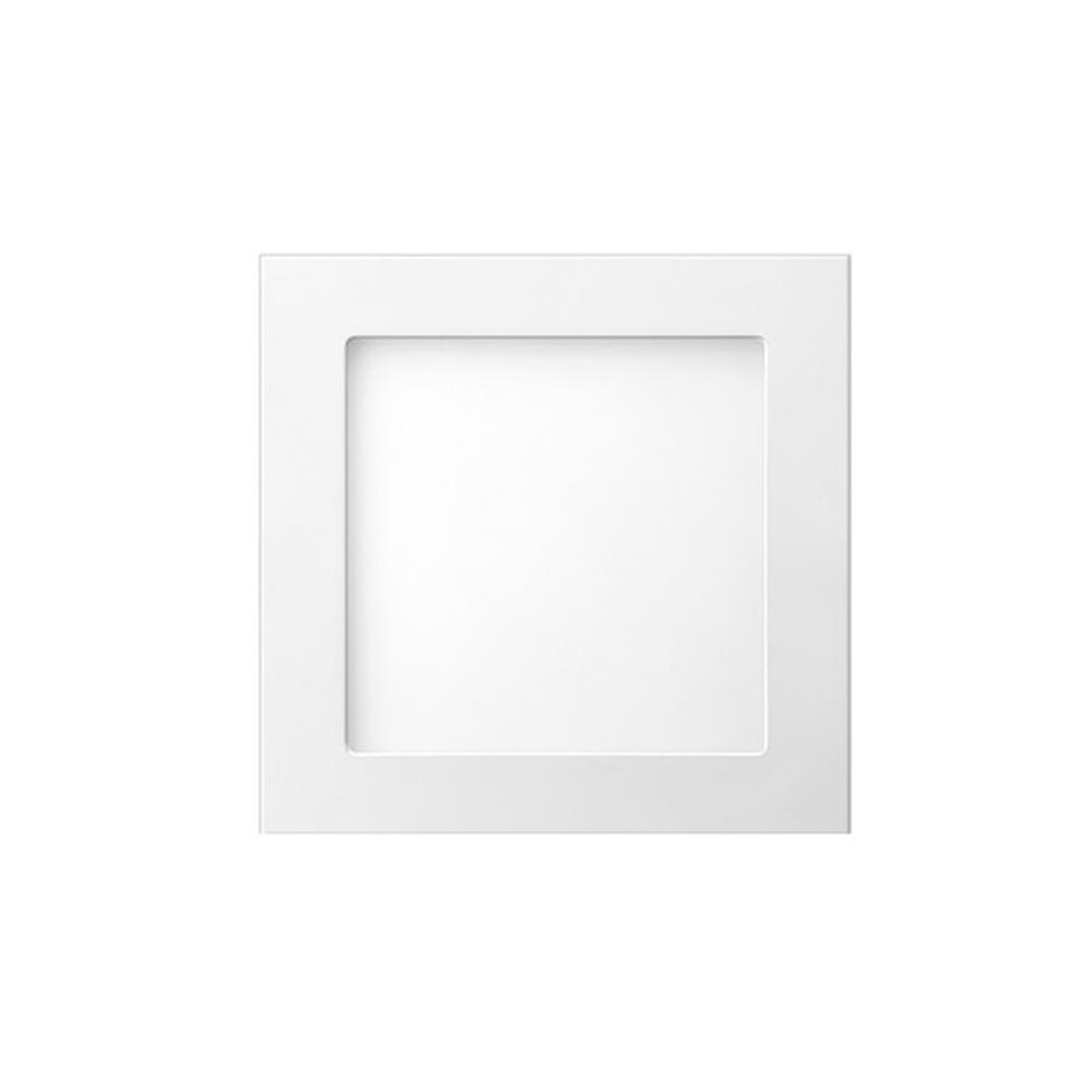 Luminária painel Led de embutir quadrada 12W 6500K Fria bivolt Elgin  - Mix Eletro