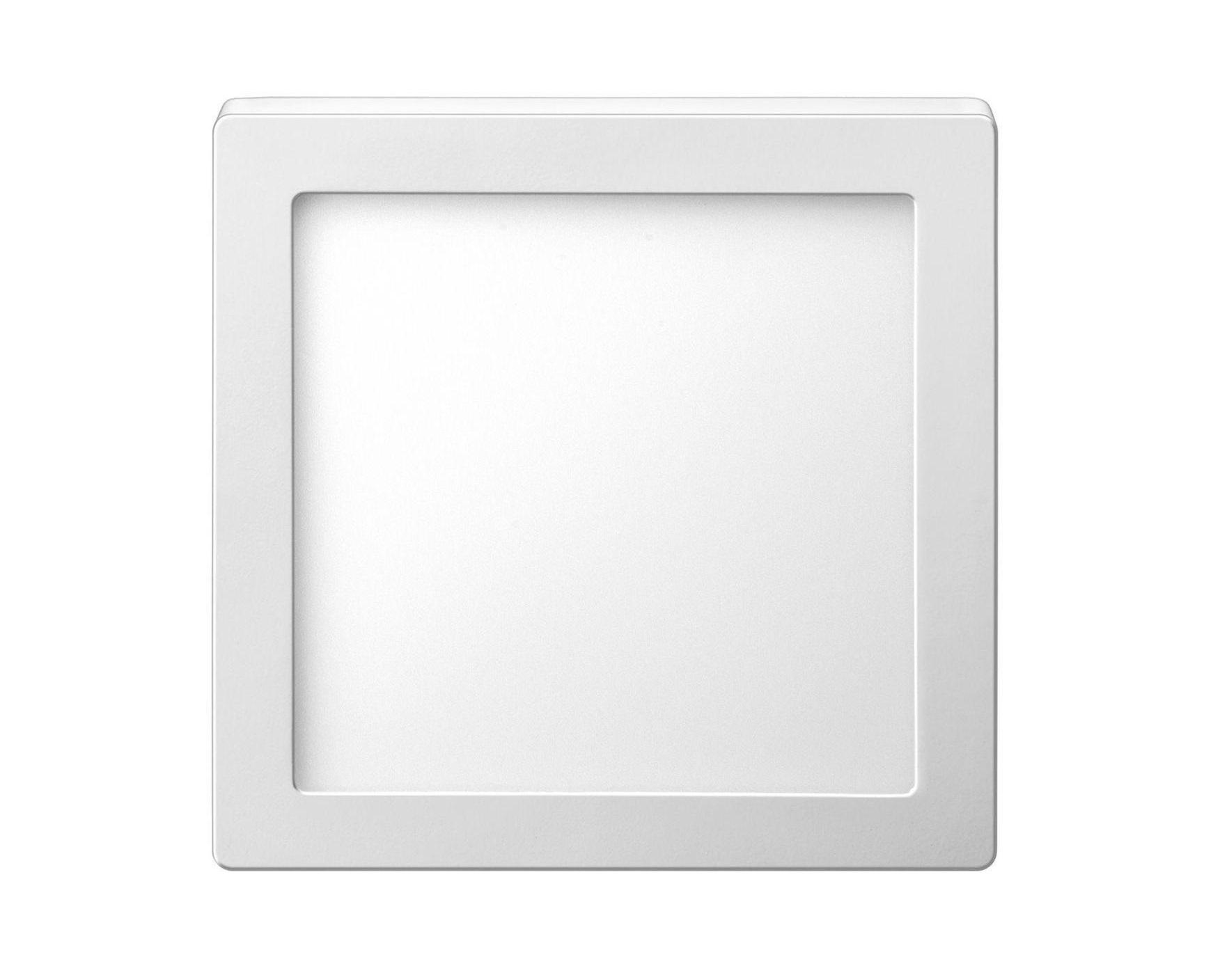 Luminária painel Led de embutir quadrada 18W 6500K Fria bivolt Elgin  - Mix Eletro