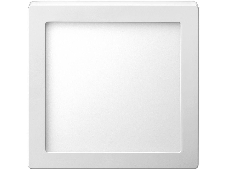Luminária painel Led de sobrepor quadrada Slim 24W 6500K Fria Elgin  - Mix Eletro